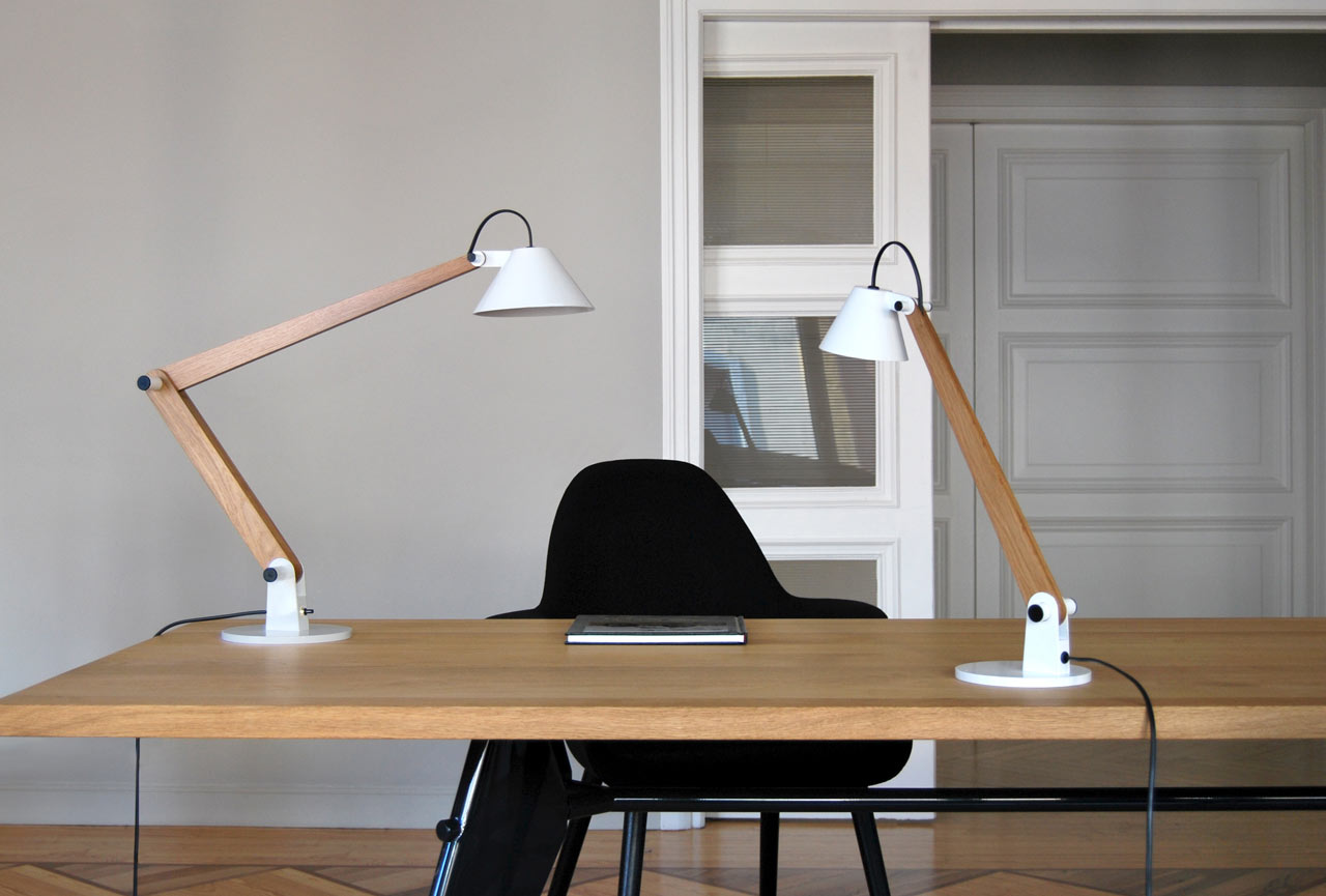 MAMET Table Lamps by Pablo Carballal