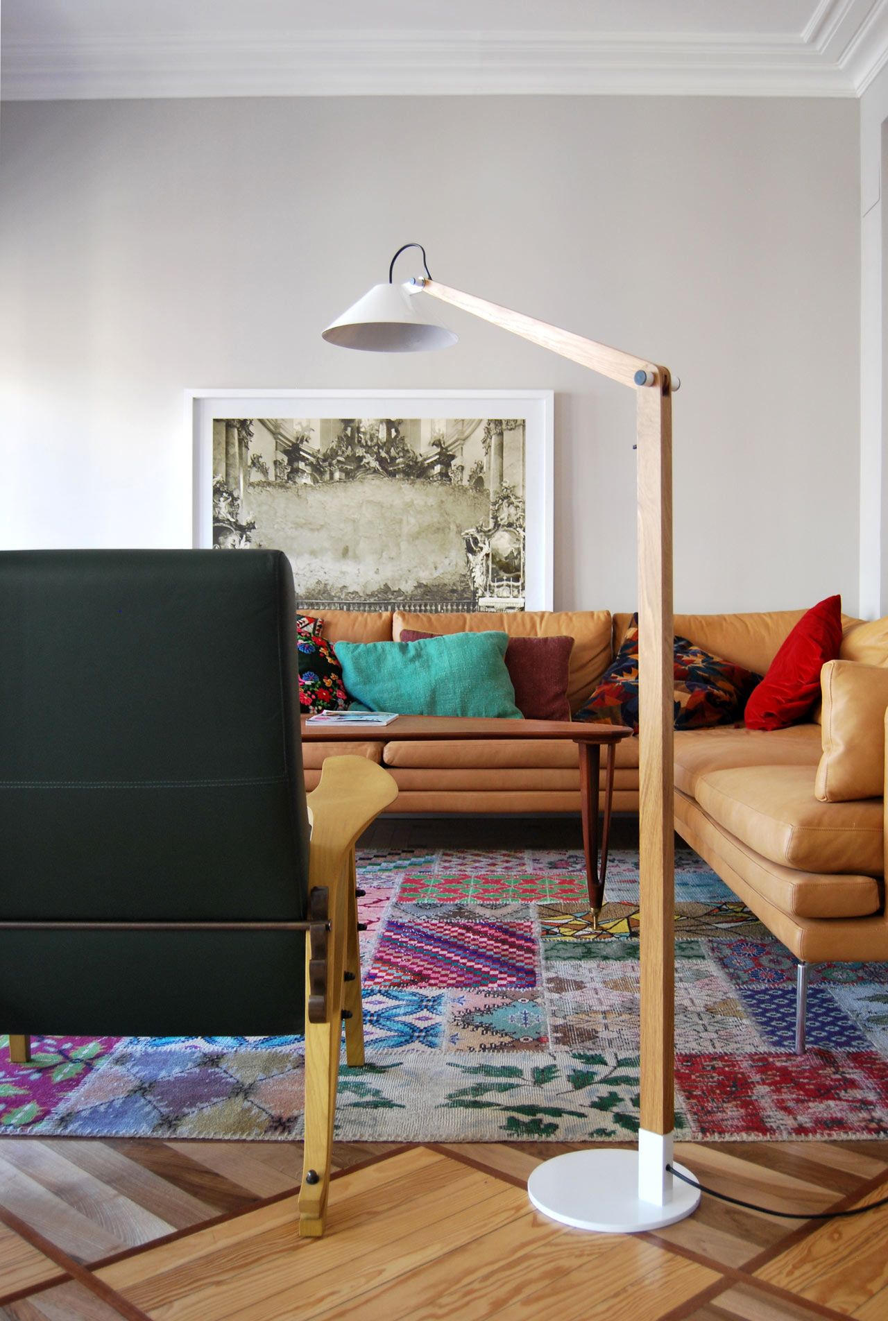 MAMET Floor Lamp by Pablo Carballal
