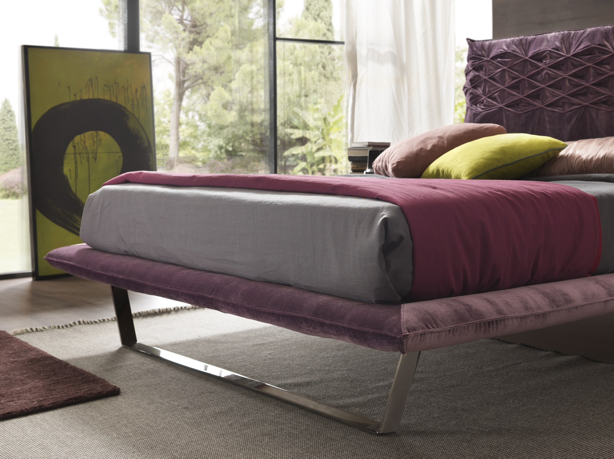 Nice Light Bed by Bolzan Letti