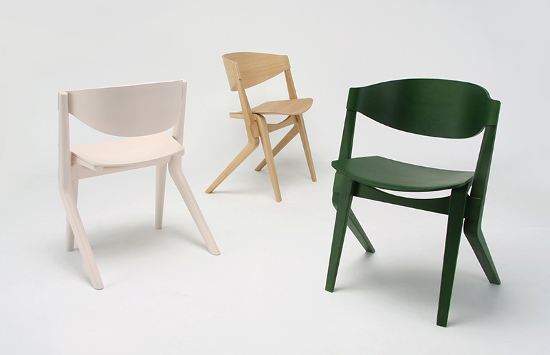 Scout Dining Chairs by Christian Haas for Karimoku New Standard