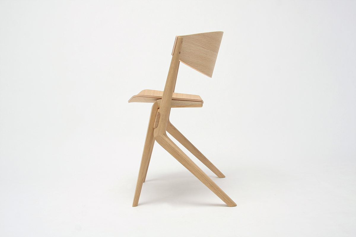 Scout Dining Chair by Christian Haas for Karimoku New Standard