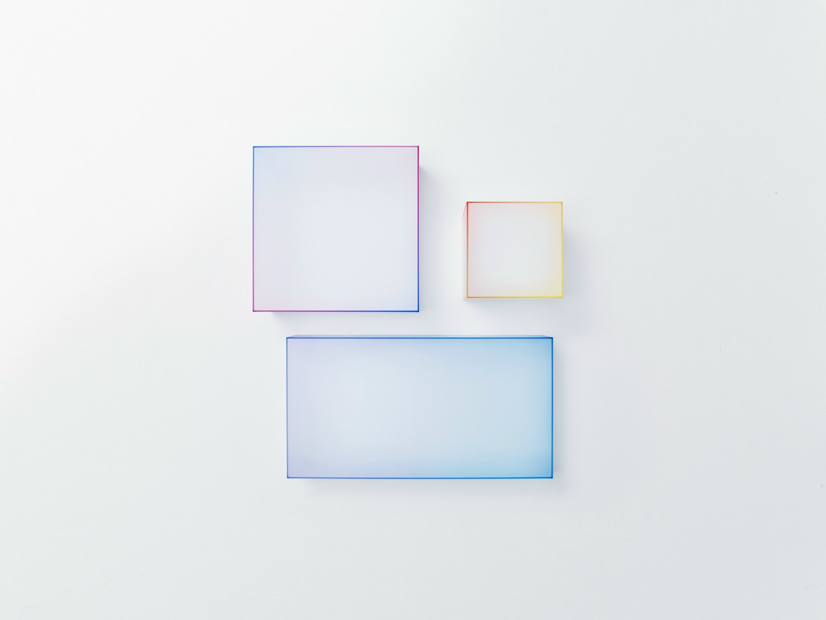 Soft Tables by Nendo for Glas Italia