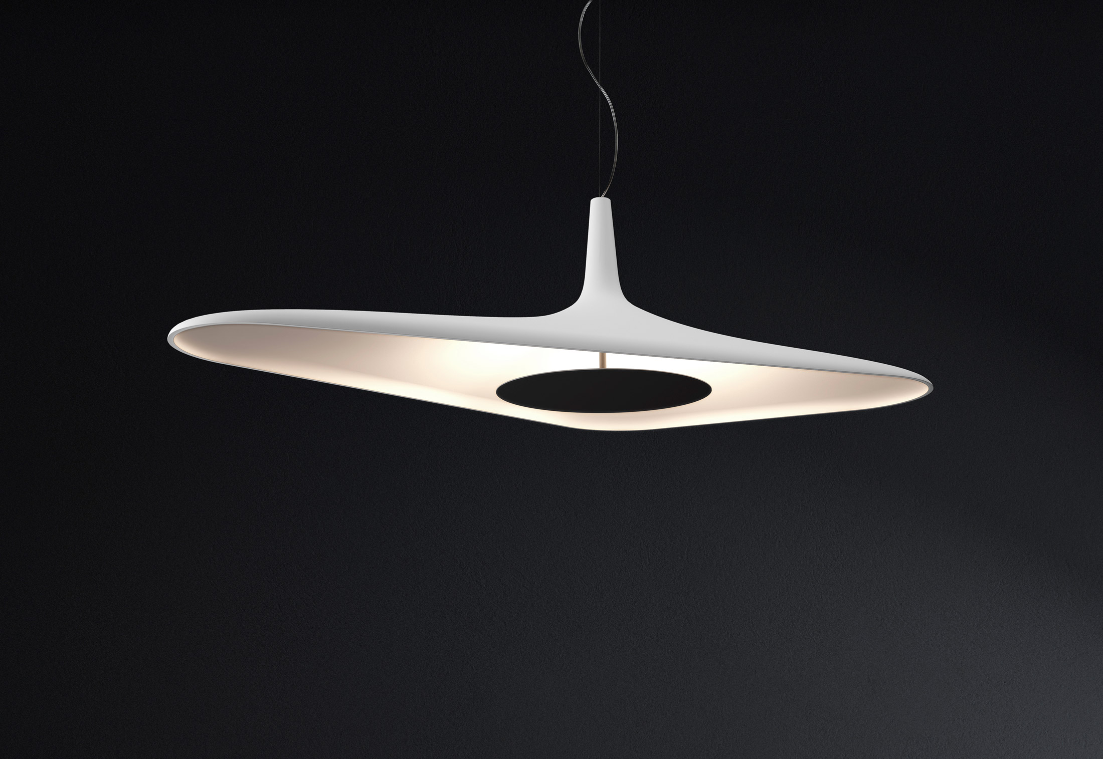 Soleil Noir Lamp by Odile Decq for Luceplan