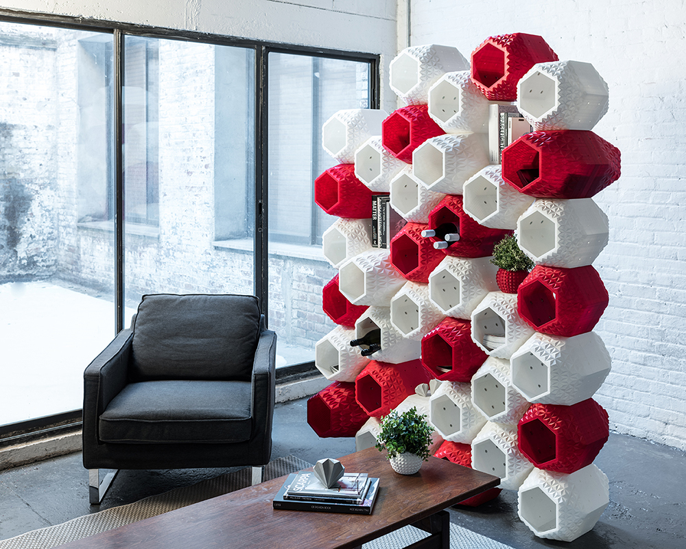 SuperMod 3D Modular Wall System by Simplus Design