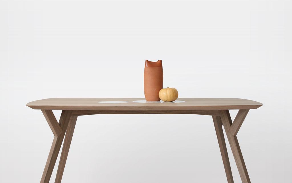 Trees & Rocks Dining Table by Martín Azúa