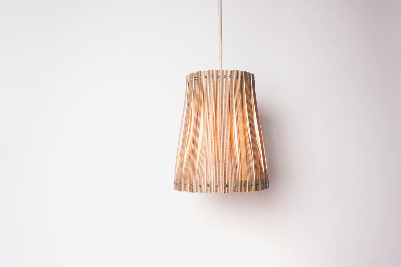 Upcycle Lamp X by Benjamin Spöth