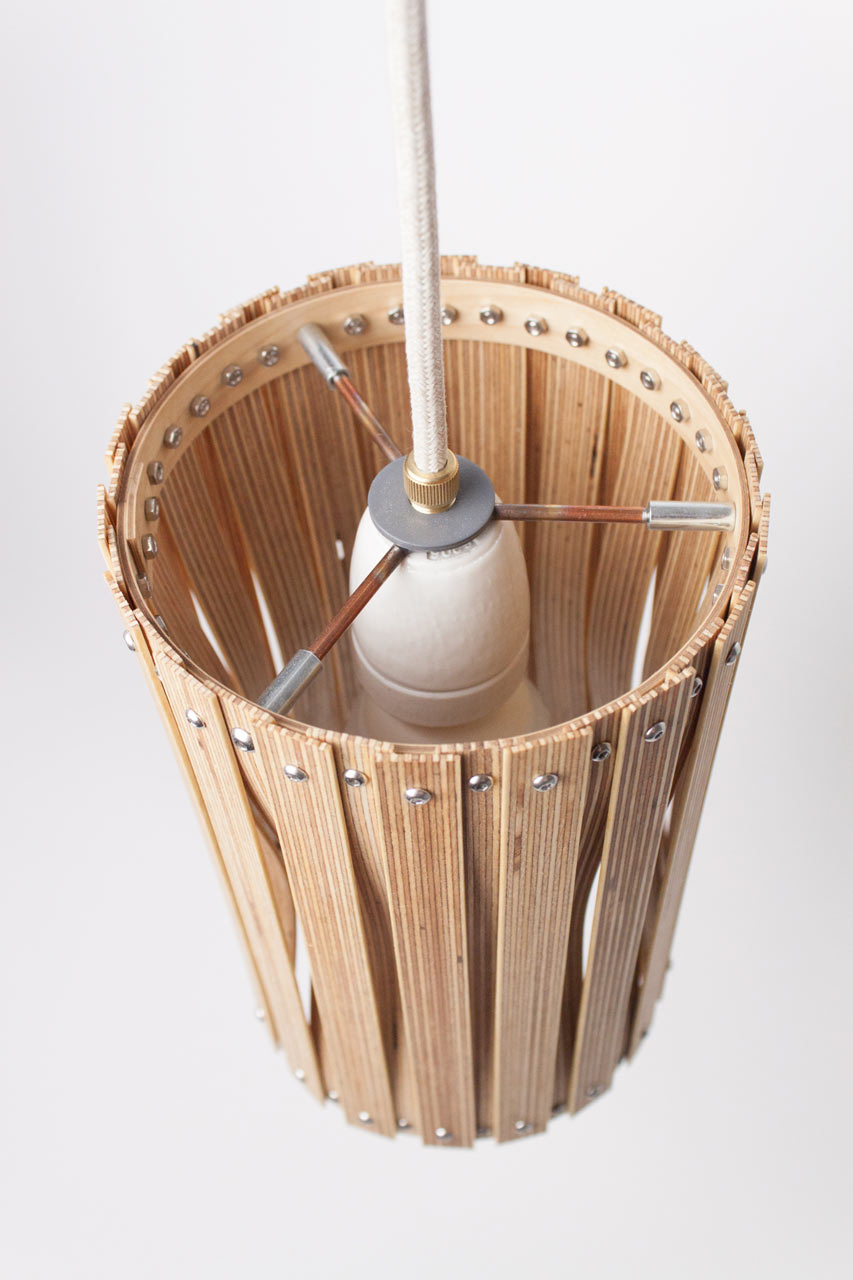 Upcycle Lamp Y by Benjamin Spöth