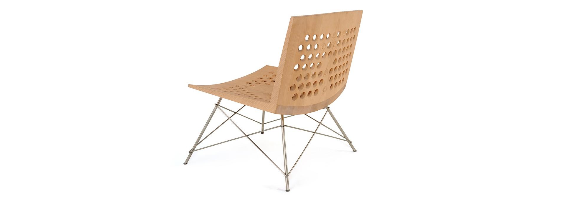 Wave Lounge Chair By Salih Teskeredžić For Zanat Sohomod