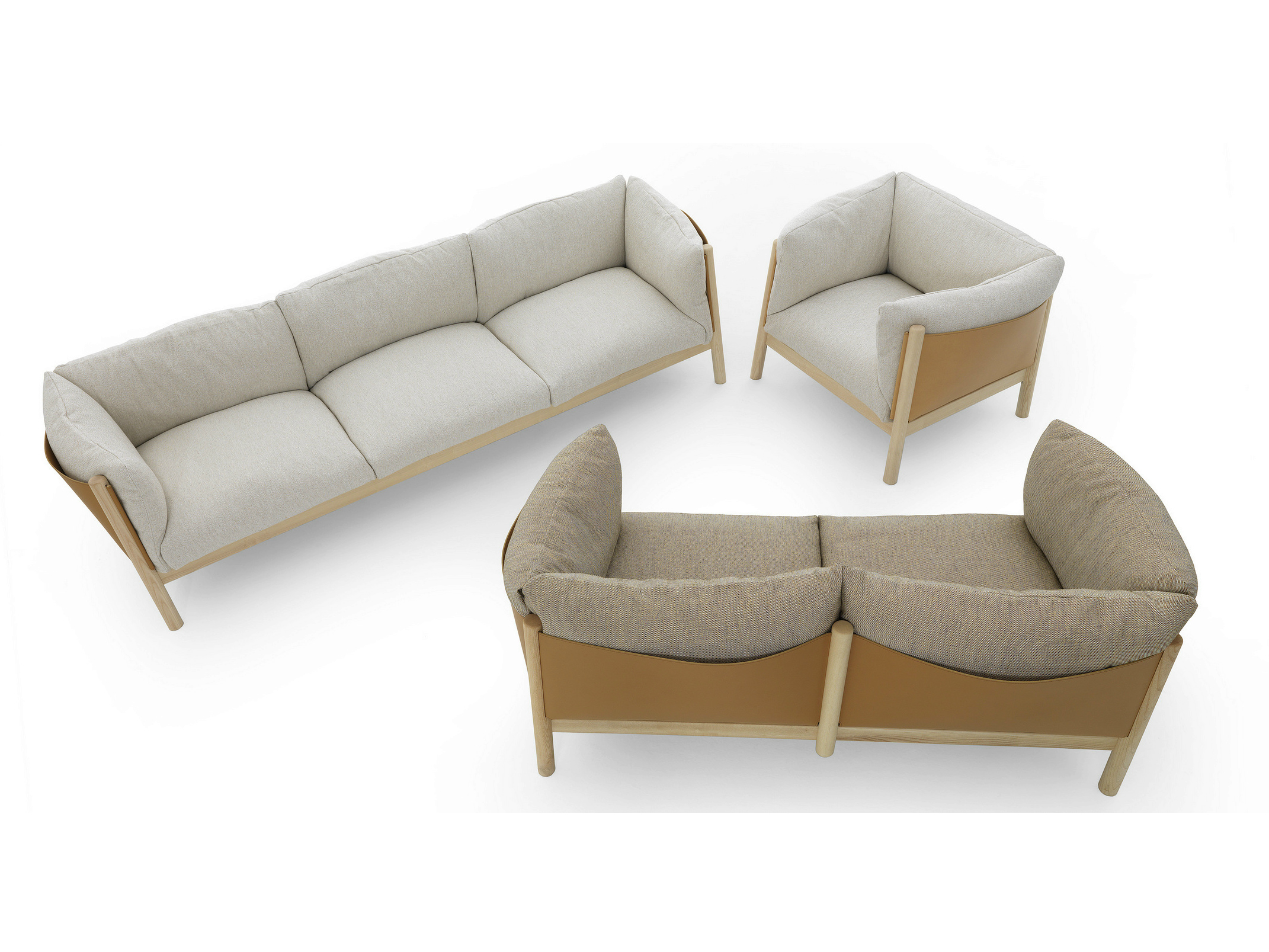 Yak Collection by LucidiPevere for De Padova