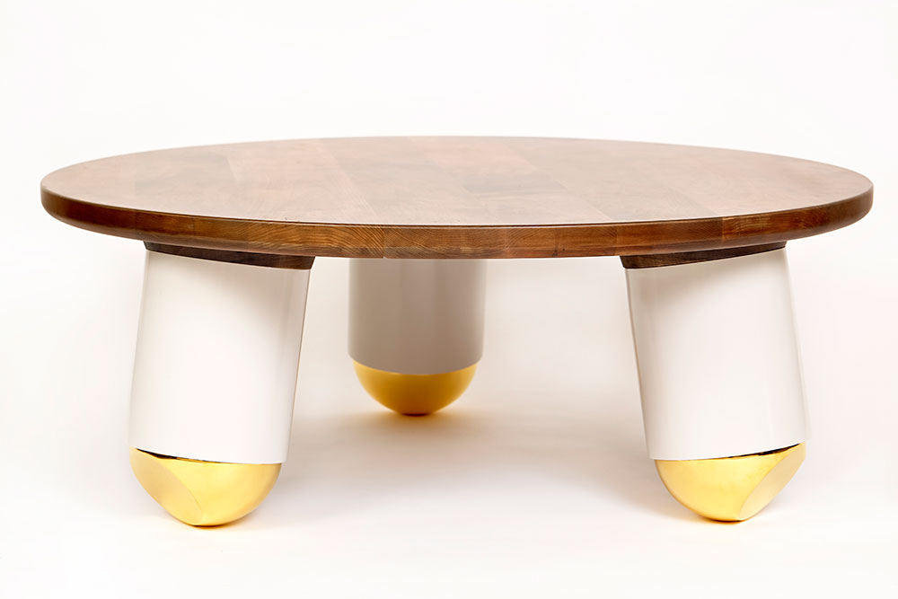 Ball Nose Coffee Table by Evan Z. Crane