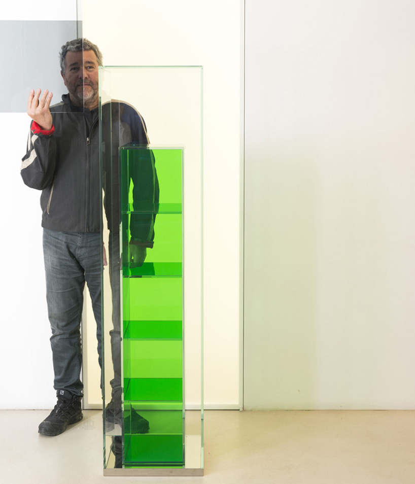 Philippe Starck with BOXINBOX for Glas Italia