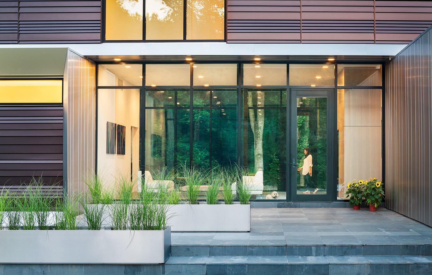 Bridge House in McLean, Virginia by Höweler + Yoon Architecture