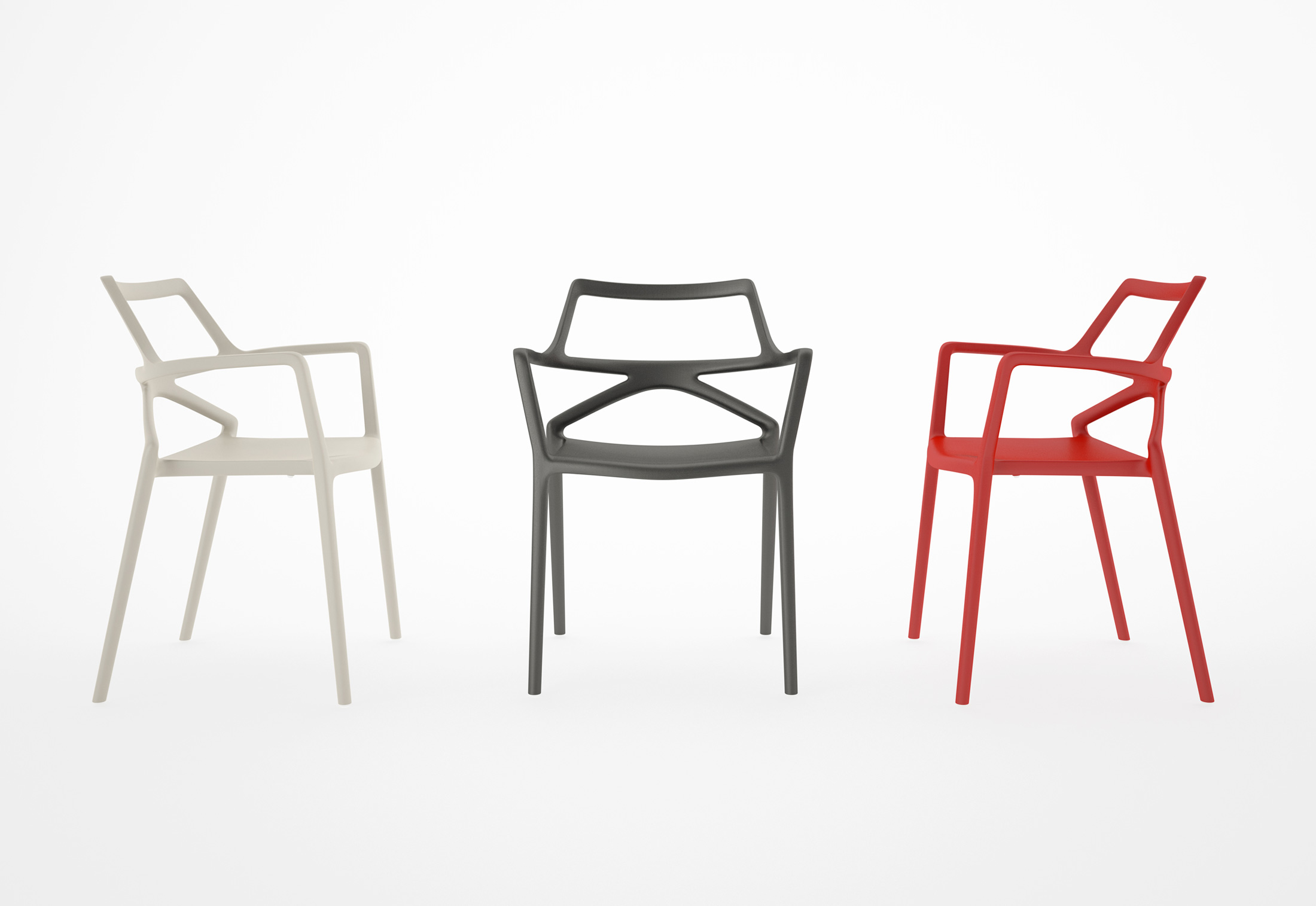 Delta Dining Chair by Jorge Pensi for Vondom