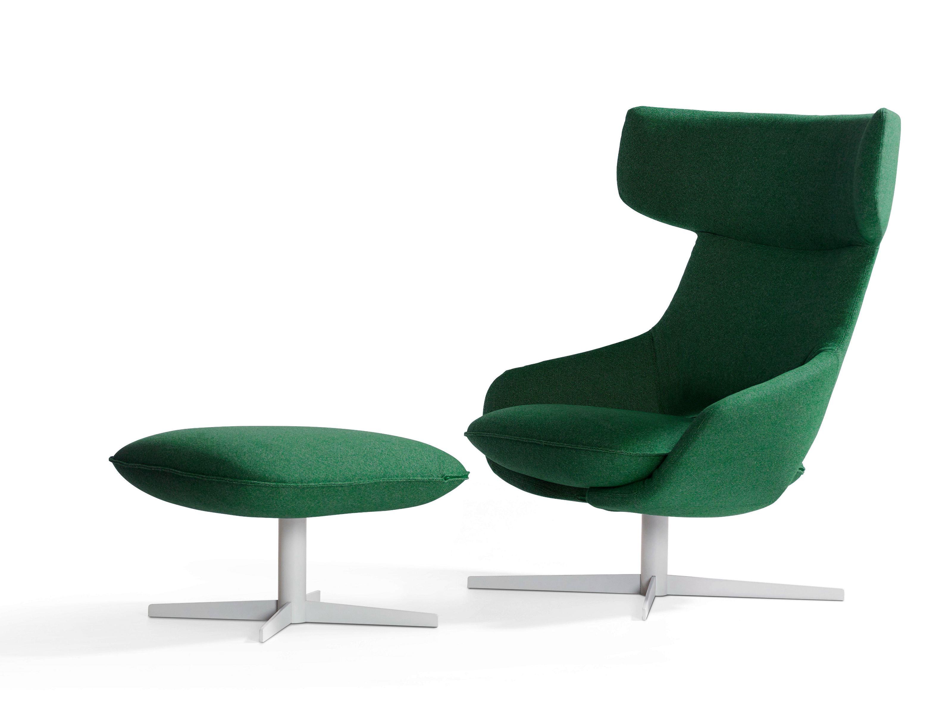 kalm swivel armchair by patrick norguet for artifort  sohomod blog -  kalm swivel armchair  ottoman by patrick norguet for artifort