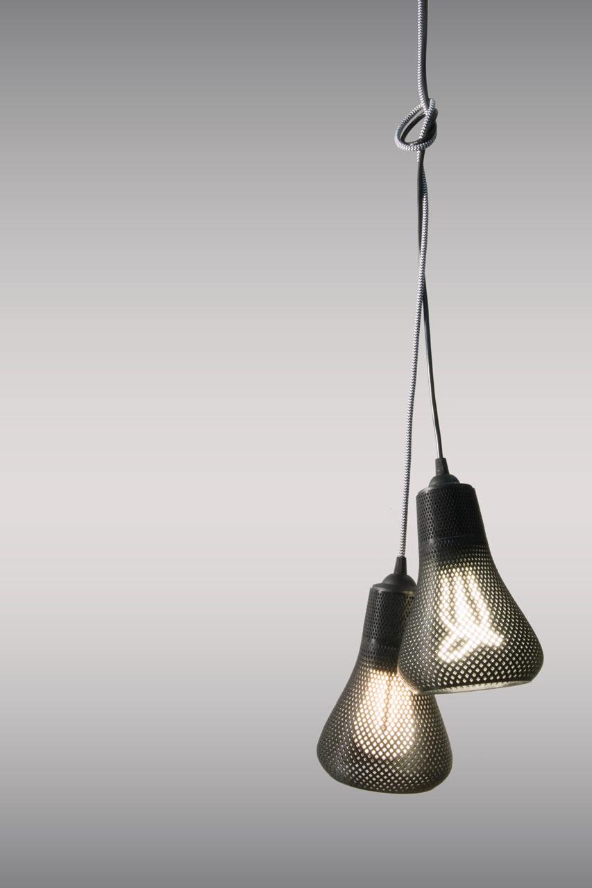 Kayan Lamps by Plumen & Formaliz3d