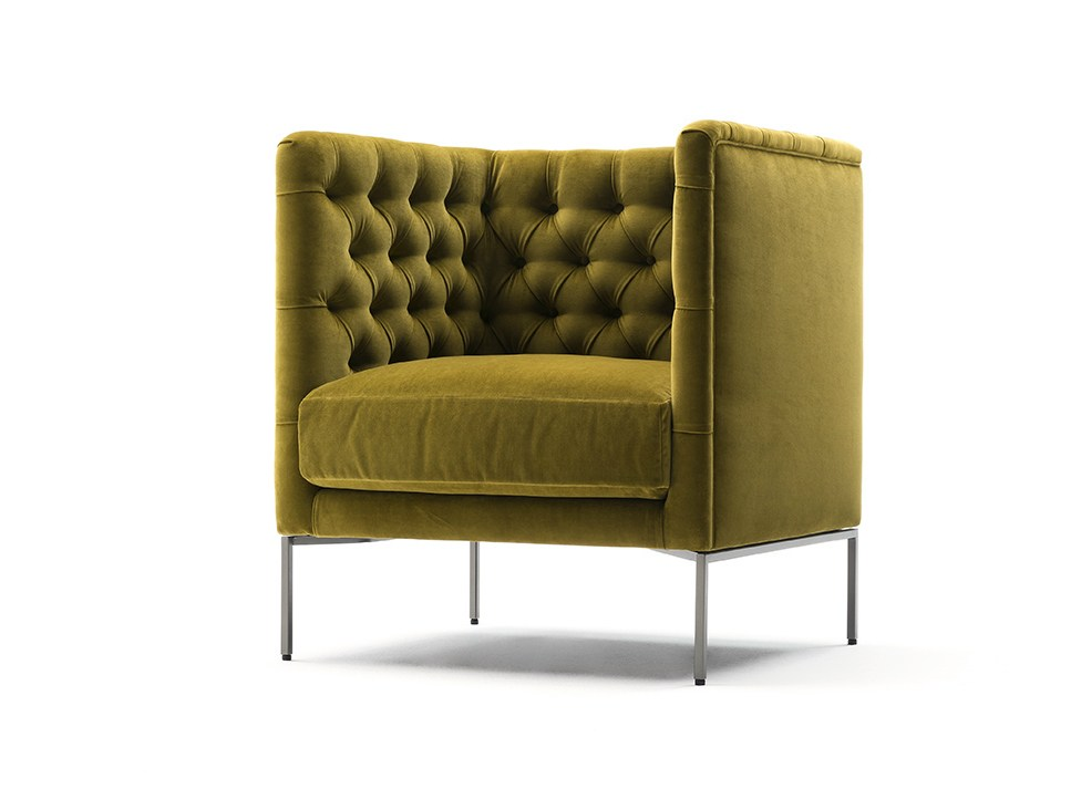 Lipp armchair by piero lissoni for living divani sohomod for Prostoria divani