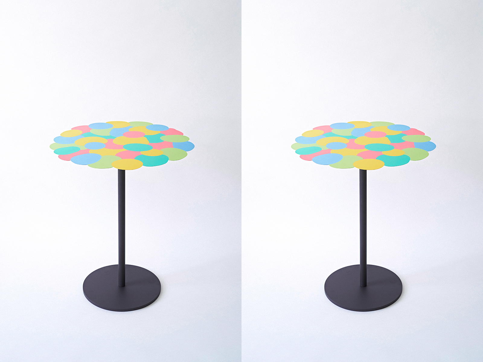 Pour Table by Hans Tan