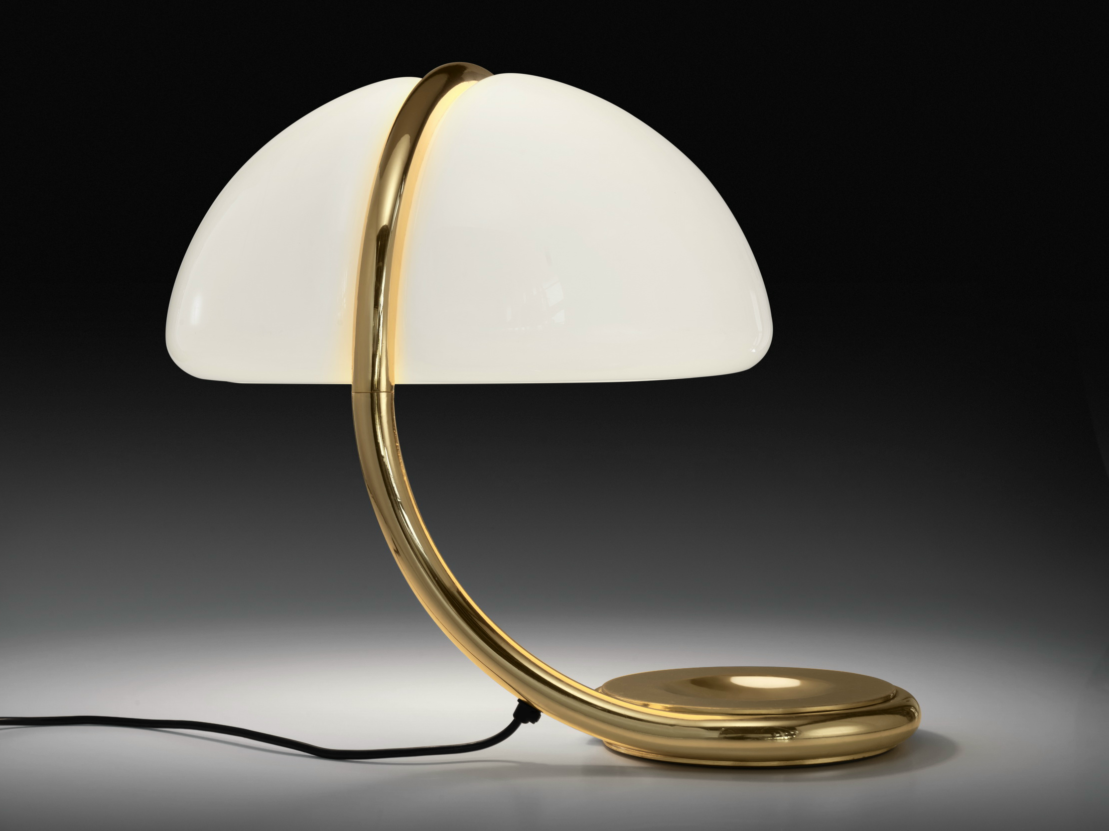 Serpente Table Lamp by Elio Martinelli for Martinelli Luce