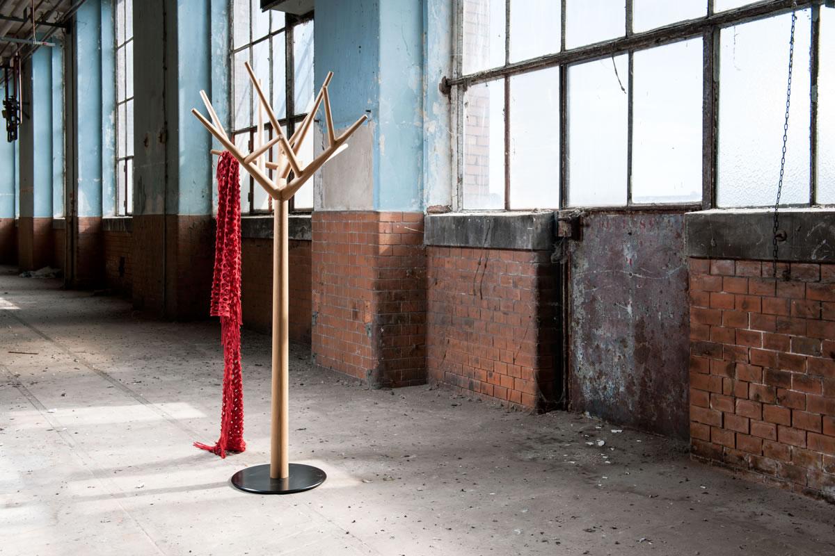 Y Coat Hanger by Baptiste Ducommun