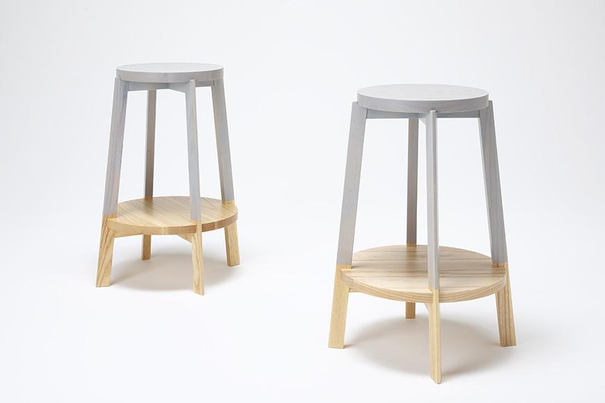 Dear K Stools by Naoya Matsumoto Design