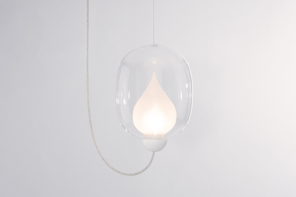 Flame Lamp by LUUM