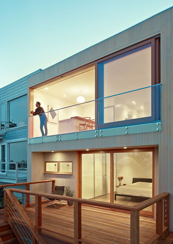 Grand View House in San Francisco, California by Ryan Leidner Architecture