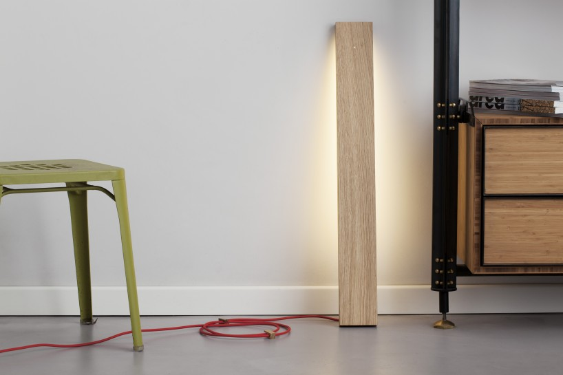 Left Floor Lamp by Luca Corvatta