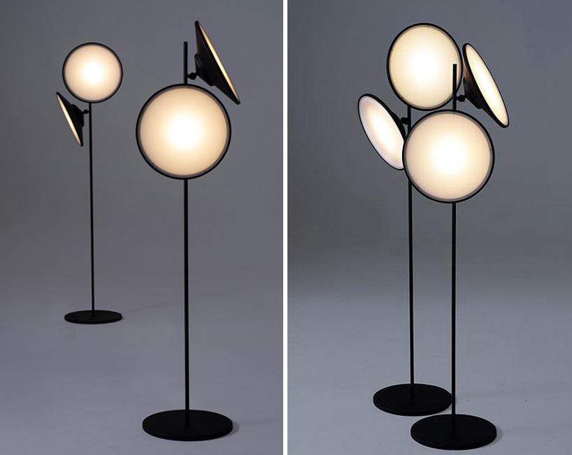 2Moons Floor Lamps by Nir Meiri Design