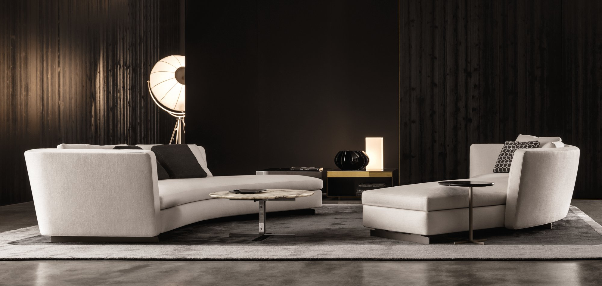 Seymour Sofas by Rodolfo Dordoni for Minotti