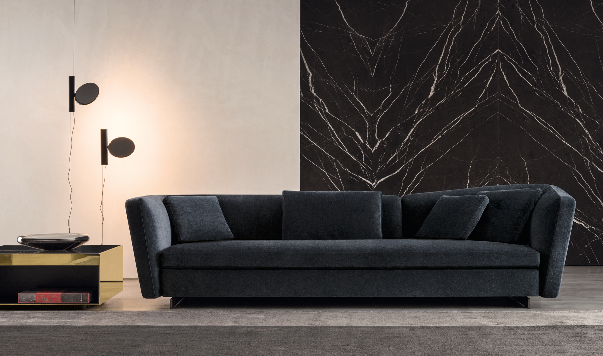 Seymour Sofa by Rodolfo Dordoni for Minotti