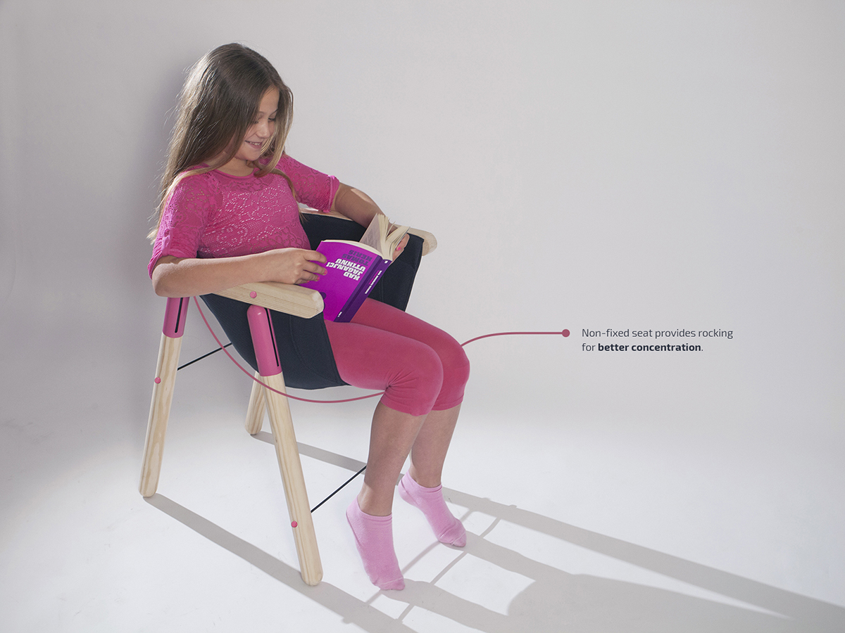 The Soothing Chair by Dorja Benussi