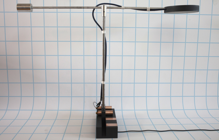 Track Table Lamp by Andrew Greenbaum