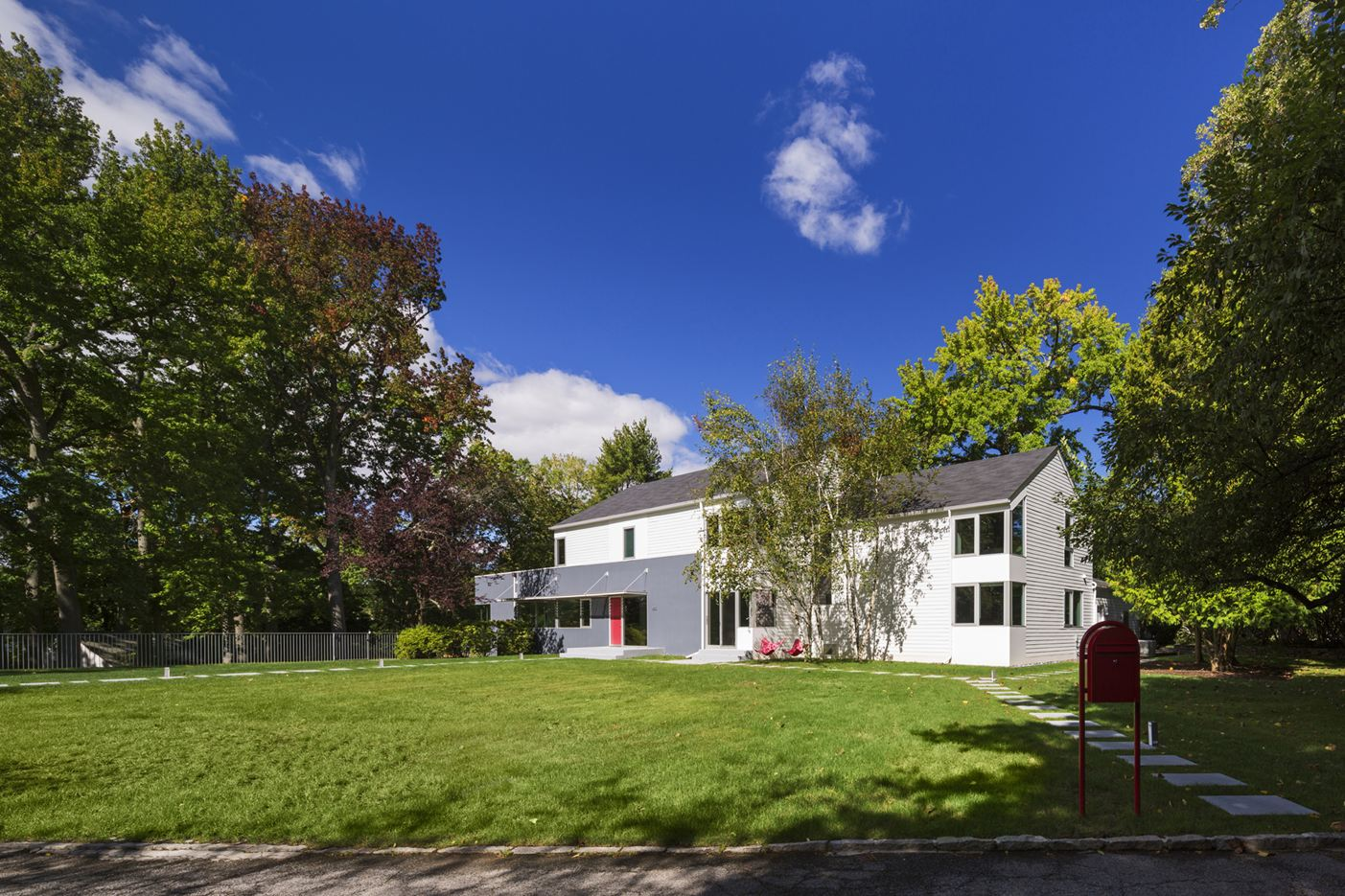 Westchester Colonial House in Westchester, New York by Fougeron Architecture
