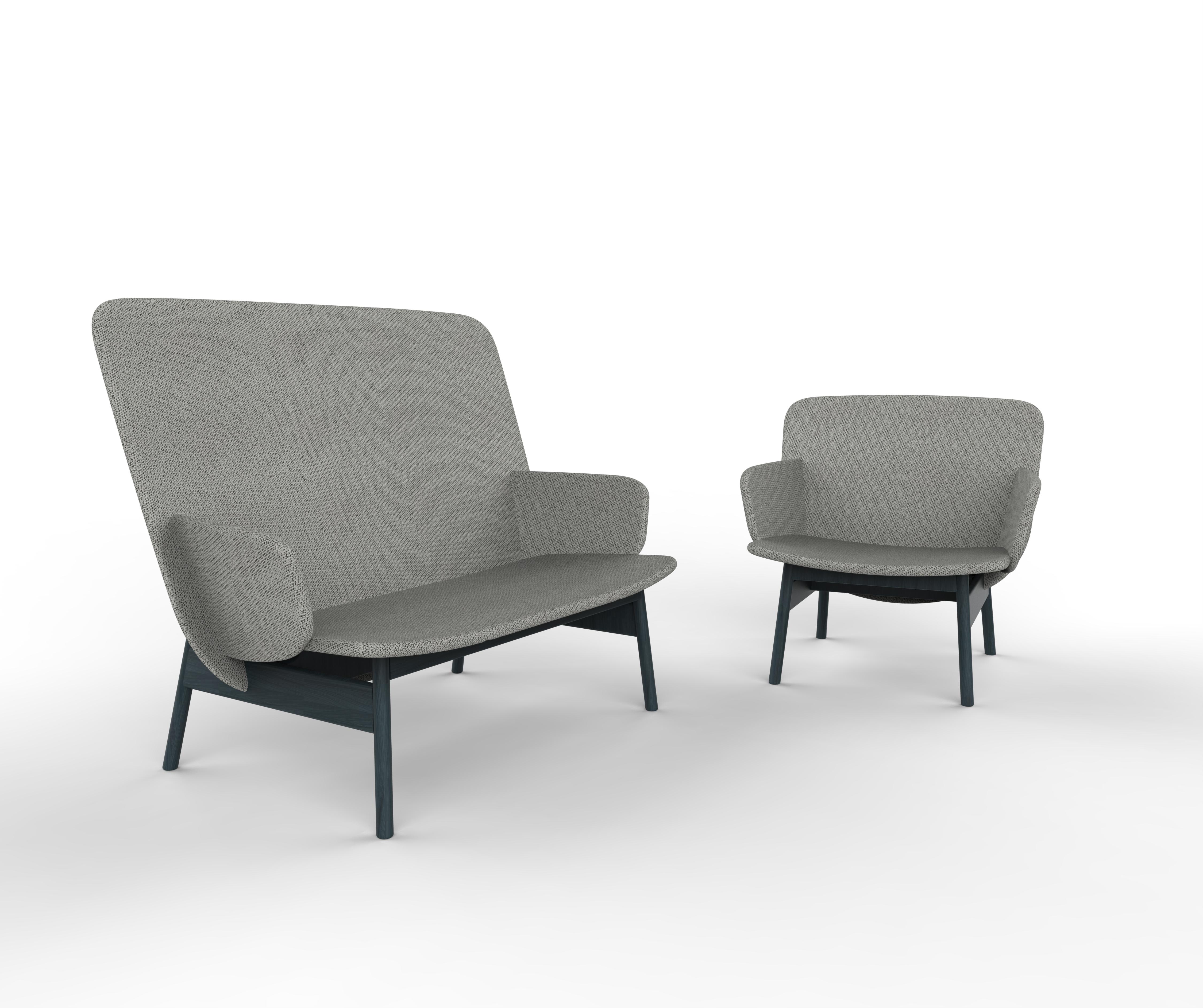 Ala Sofa & Armchair by Sebastian Herkner for La Cividina