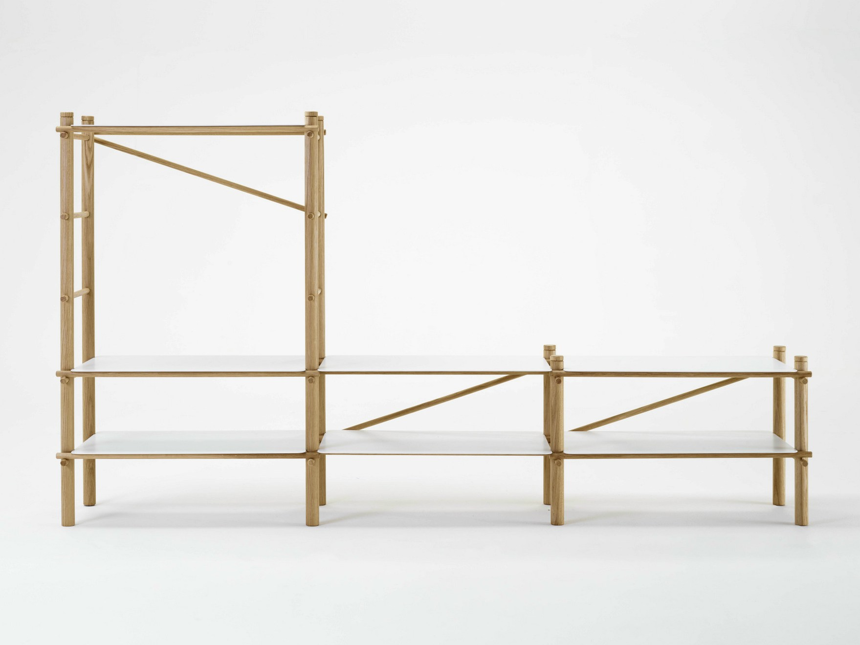 ... Inspired By Traditional Indian Scaffolding. Andamio Shelf By Florian  Gross U0026 Kike Macías For ...