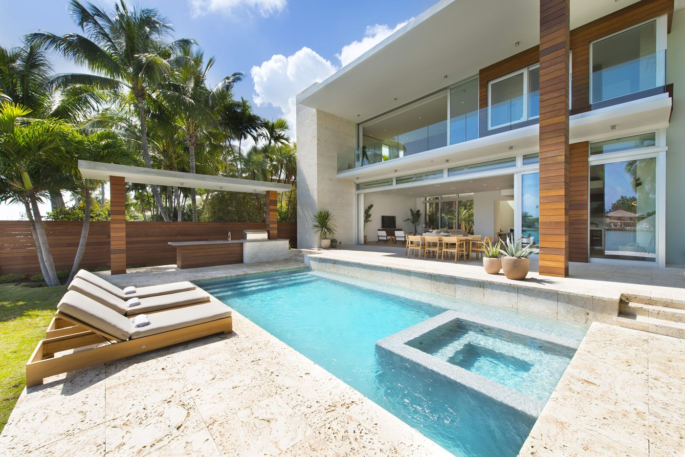 Dilido Residence in Miami Beach by [STRANG] Miami