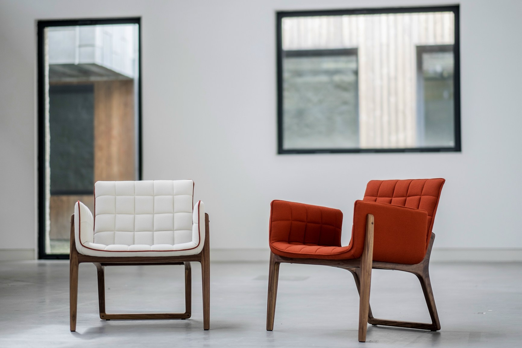 Mandarine Armchairs by Claudia & Harry Washington for Two.Six