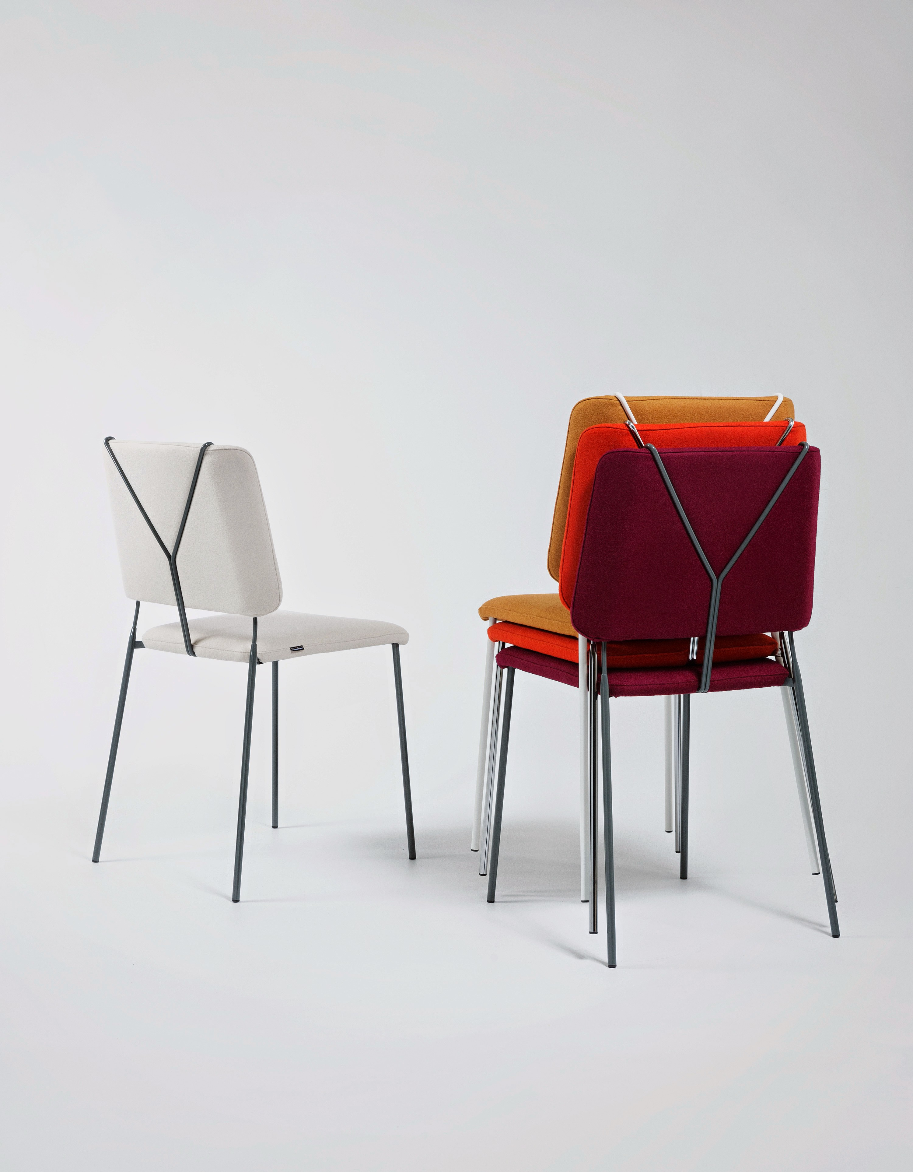 FRANKIE Chairs by Färg & Blanche for Johanson Design