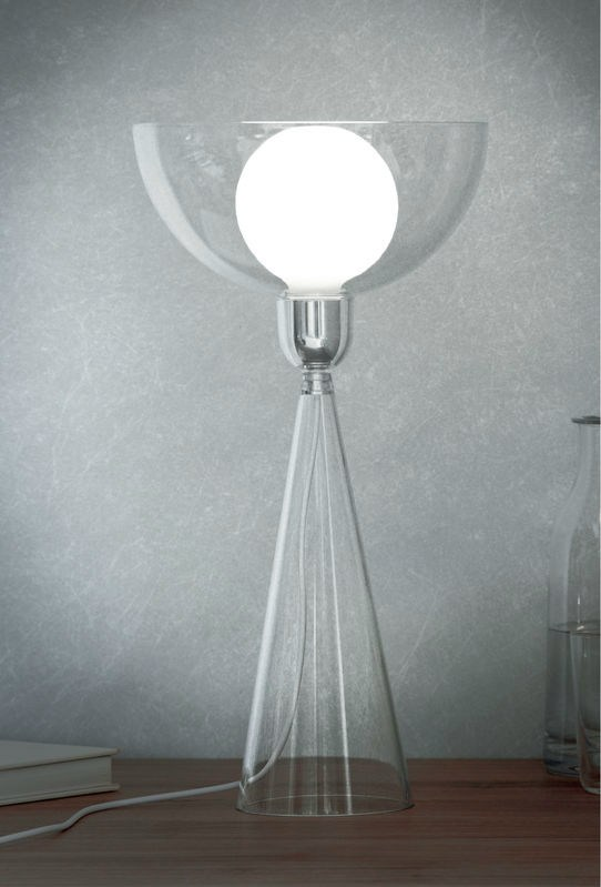Lady Shy Table Lamp by Giovanni Alessi Anghini & Gabriele Chiave for ALESSI