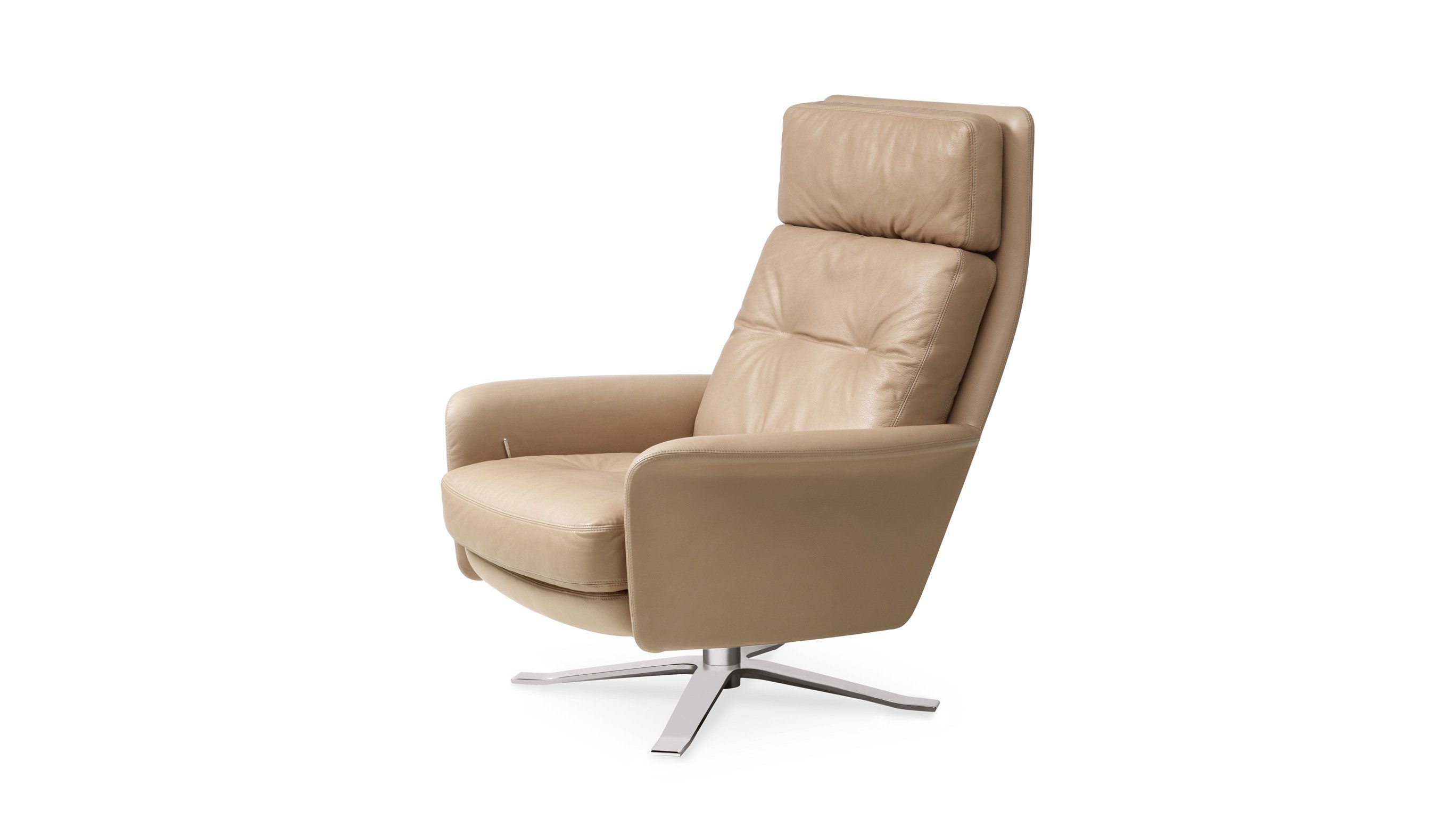 High back lounge chairs - Glen High Back Lounge Chair By Intertime