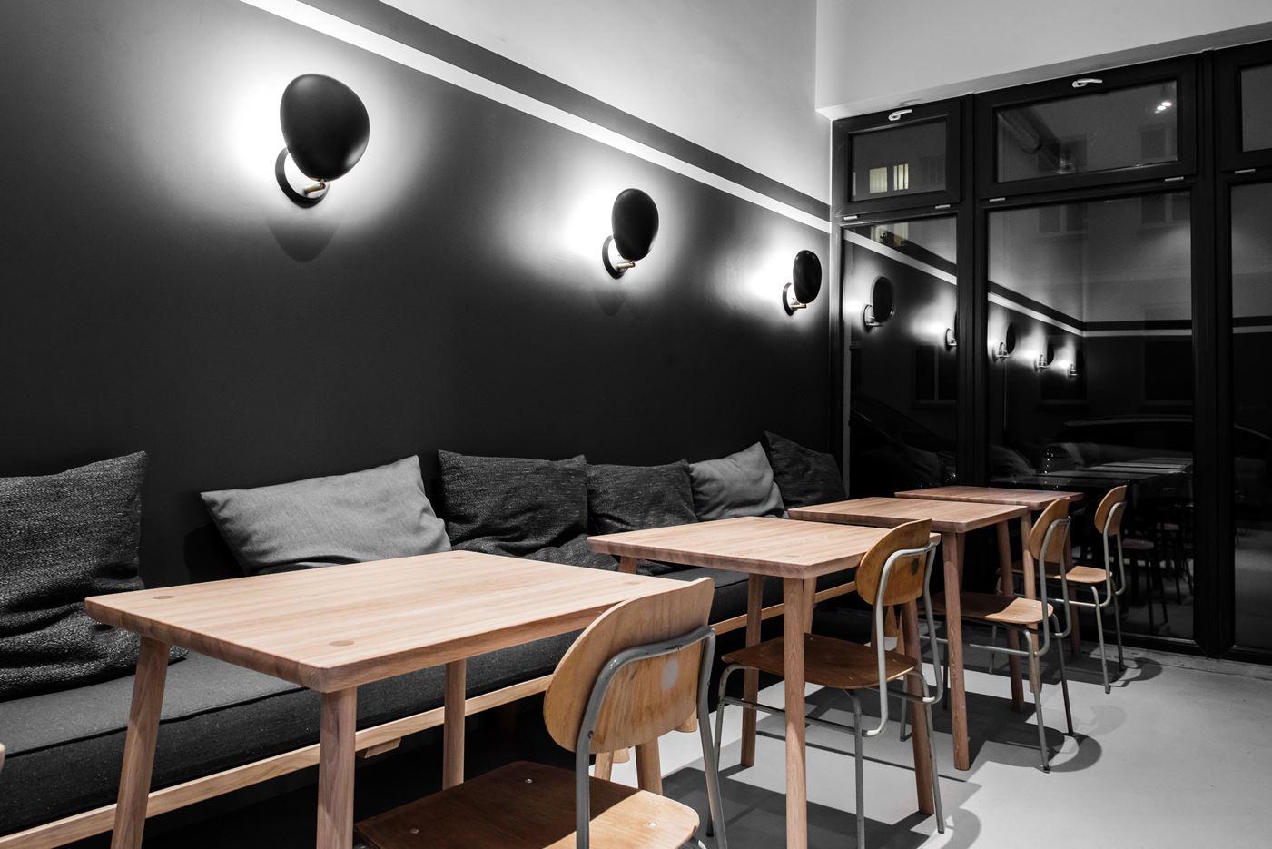 kontrast restaurant in koszalin poland by loft szczecin. Black Bedroom Furniture Sets. Home Design Ideas