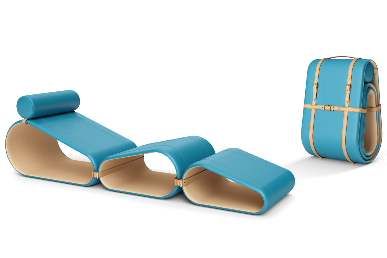 Chaise Longue By Marcel Wanders For Louis Vuitton