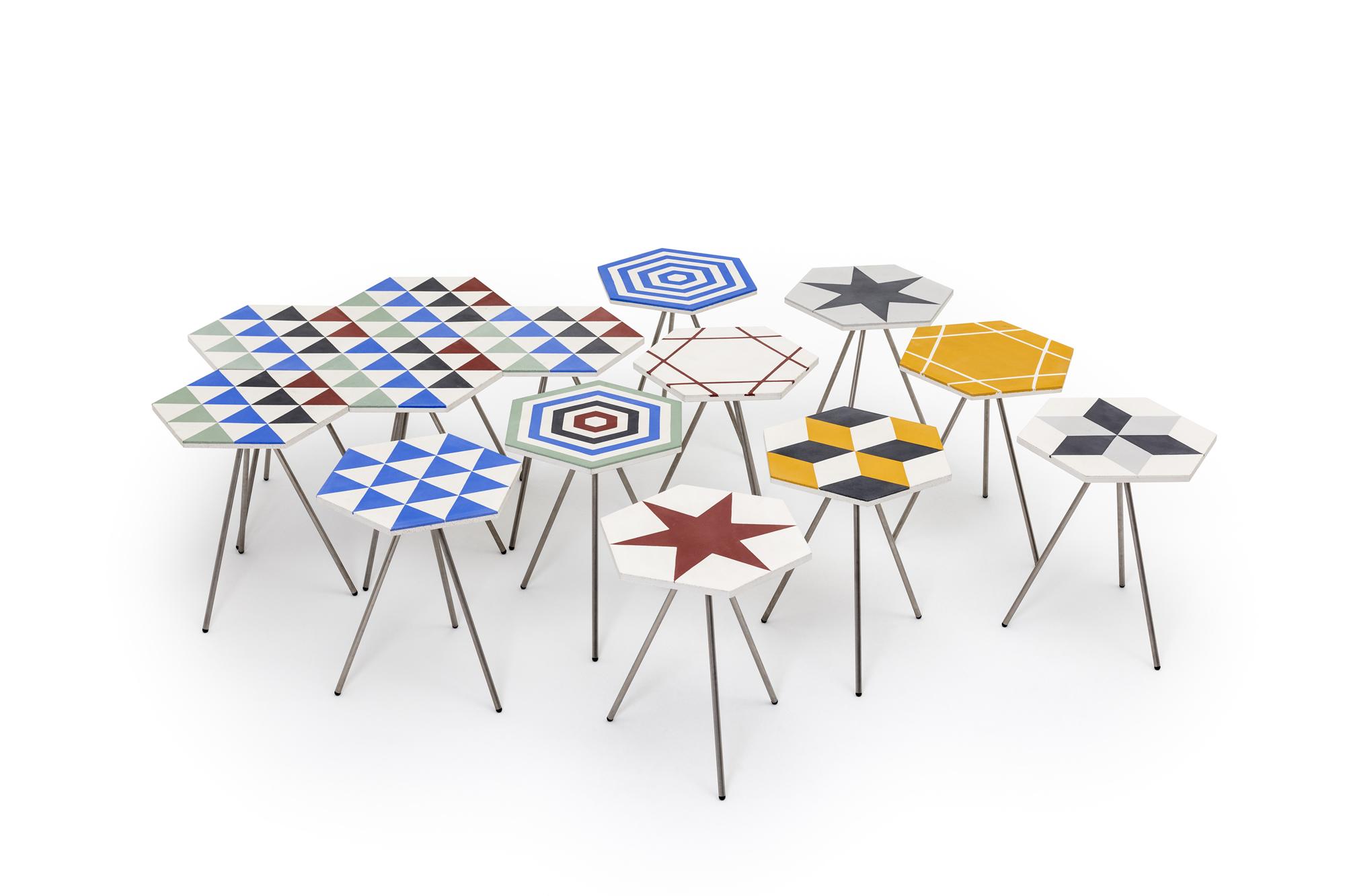 riad tables by alvaro catalan de ocon u francesco faccin
