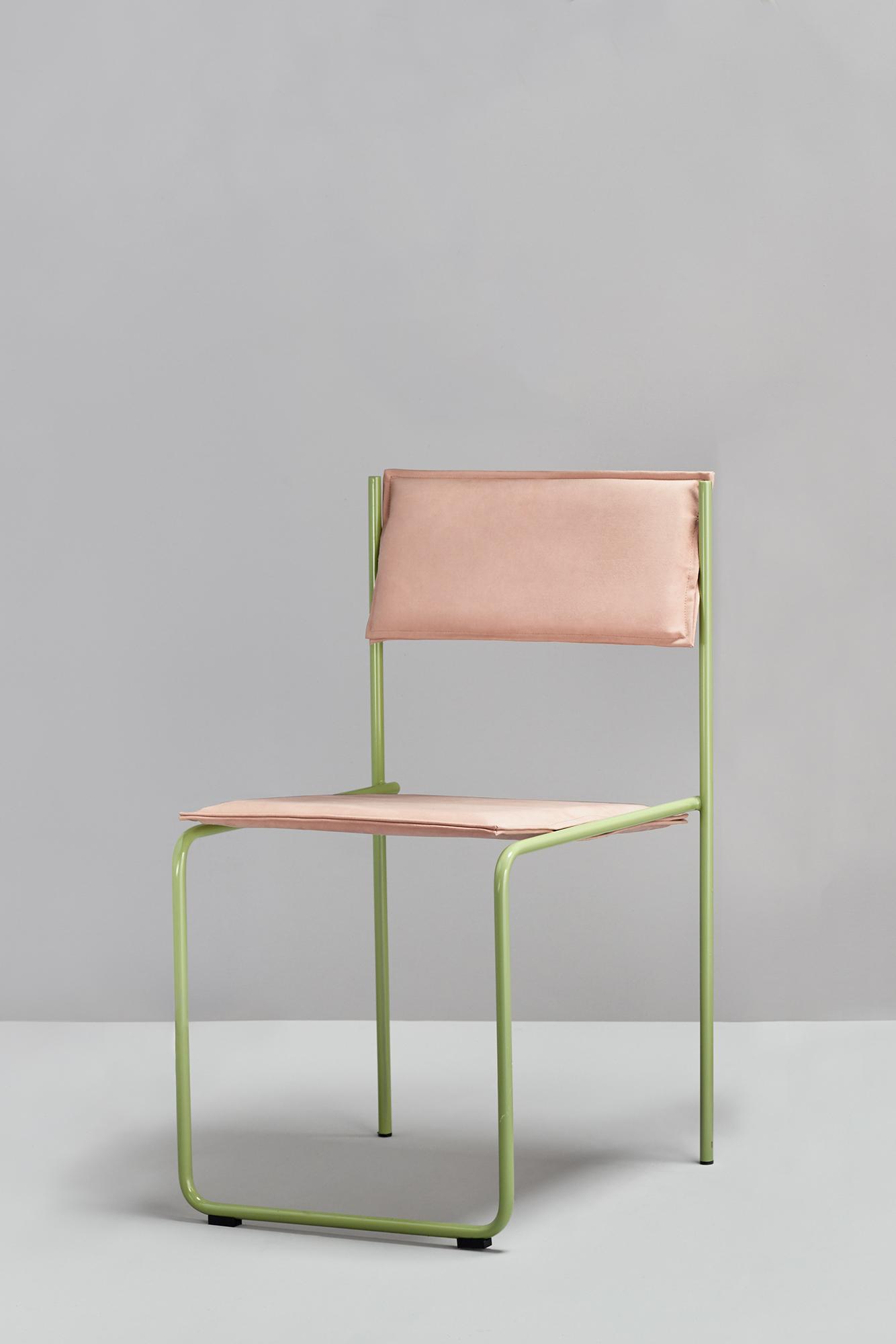trampol n chair by cuatro cuatros for missana sohomod blog. Black Bedroom Furniture Sets. Home Design Ideas