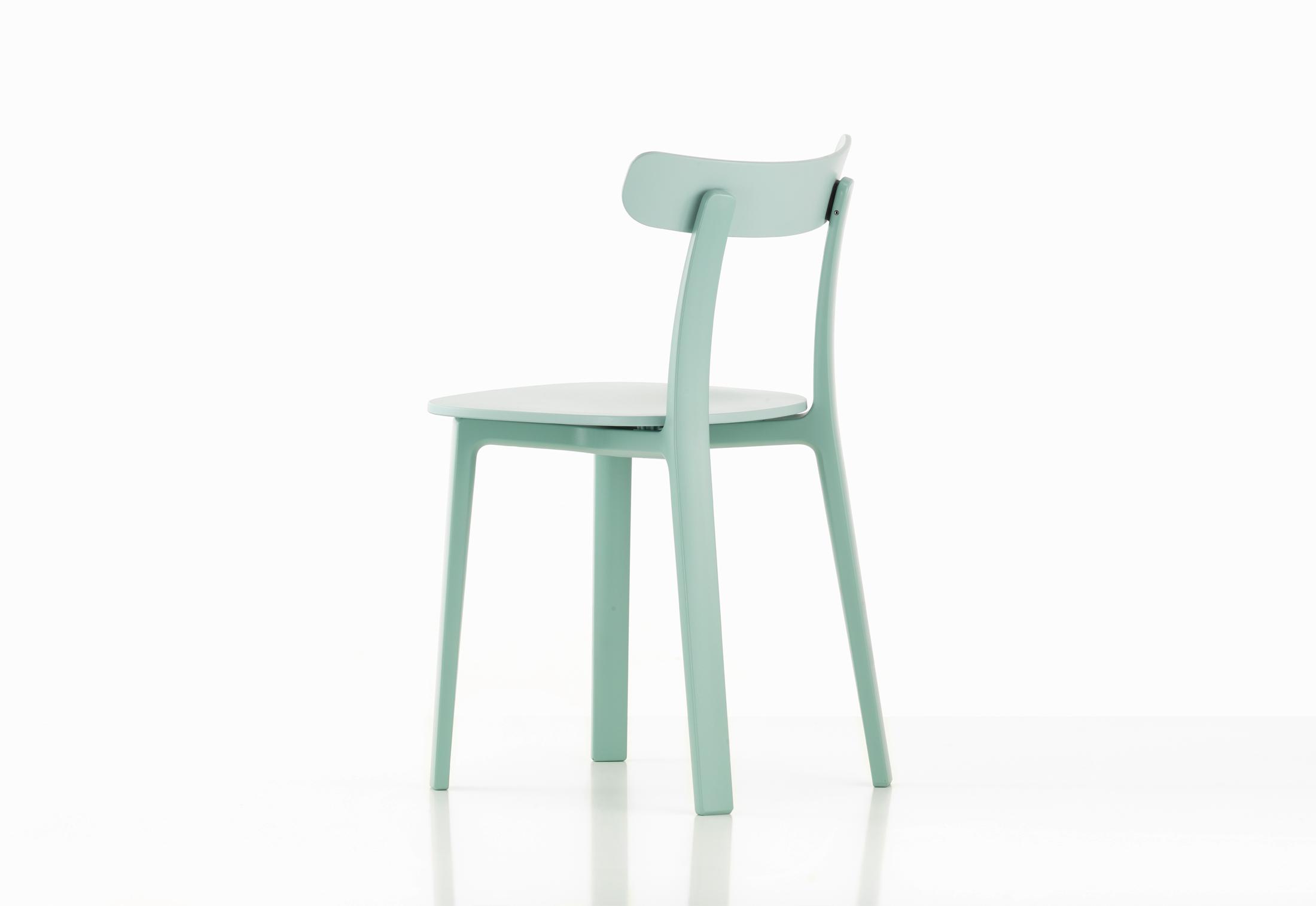 all plastic chair by jasper morrison for vitra sohomod blog. Black Bedroom Furniture Sets. Home Design Ideas