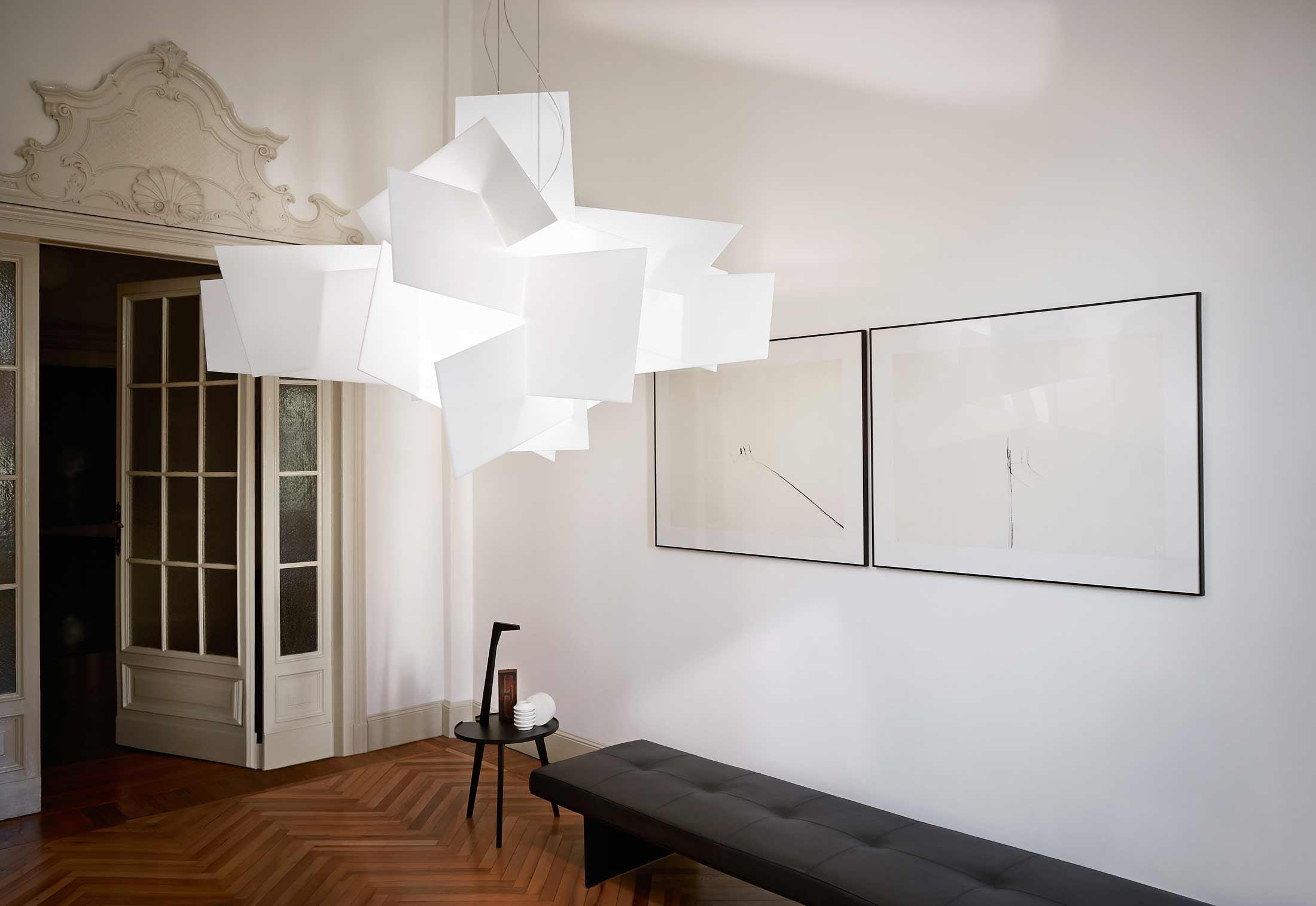 big bang suspension lamp by enrico franzolini vicente. Black Bedroom Furniture Sets. Home Design Ideas