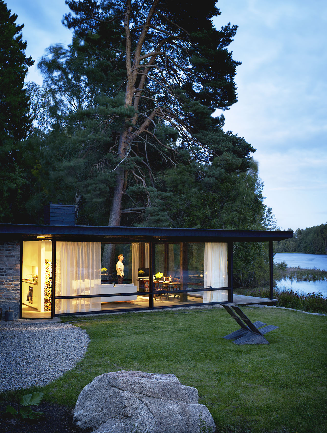 he Summer House of rchitect Buster Delin in Sweden Sohomod Blog - ^