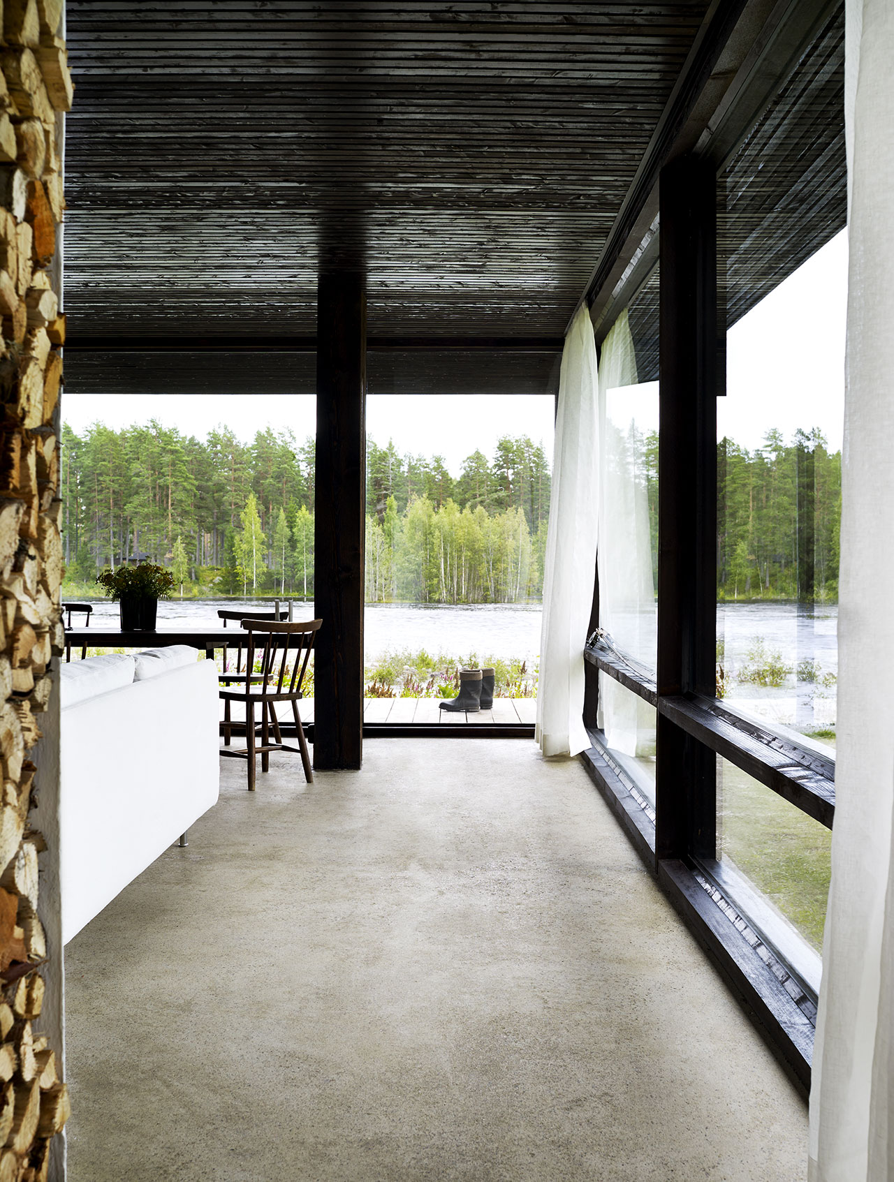 he Summer House of rchitect Buster Delin in Sweden Sohomod Blog - ^