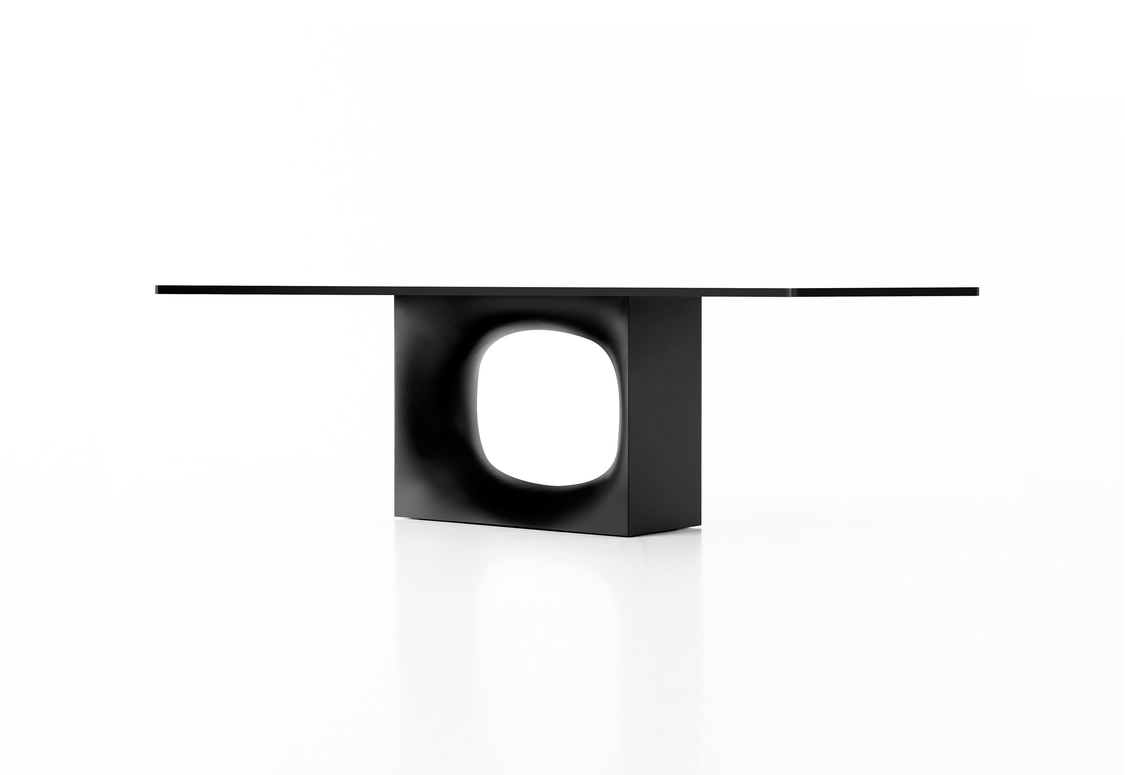 Hole Dining Table by Kensaku Oshiro for Kristalia