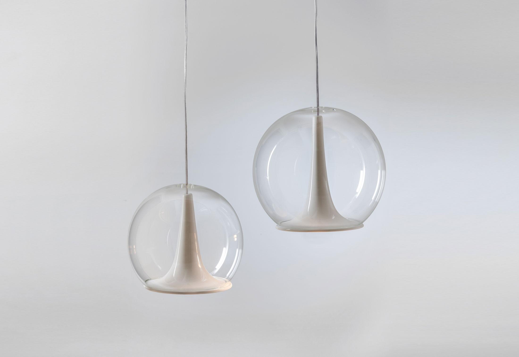 Trumpet Pendant Lamps by Matteo Zorzenoni for Bosa